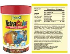 Tetra - dwarf shrimp improve color