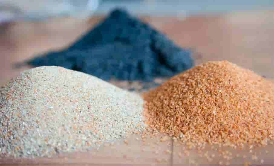 Types of sand for shrimp tank