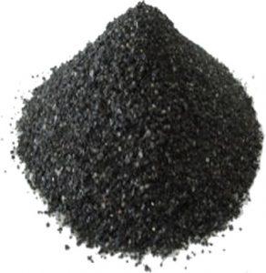 Pile of quartz sand