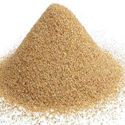 Pile of filter sand