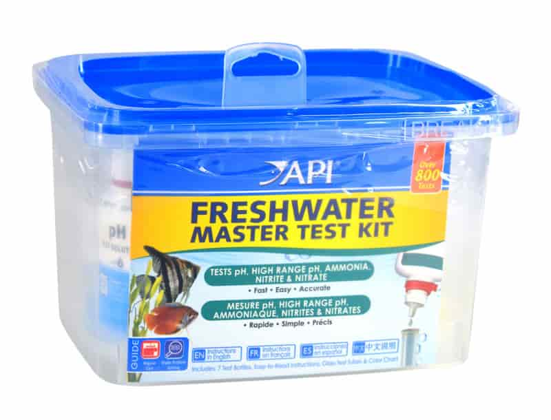 API test kit for shrimp
