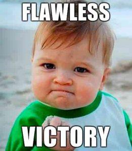 Dwarf shrimp Flawless victory