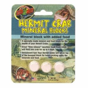 Hermit Crab Mineral Blocks