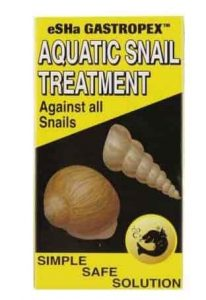 esha-gastropex aquatic snail treatment