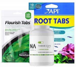 Aquarium root tabs