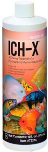 A bottle of Ich-X