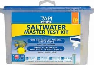 How To Set Up A Saltwater Aquarium - saltwater test kit