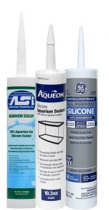 How To Fix A Leaking Aquarium With And Without Draining - aquarium sealant
